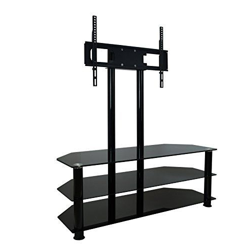 Fashionable Mountright Cantilever Glass Tv Stand For Up To 60 Inch Screens (View 6 of 20)