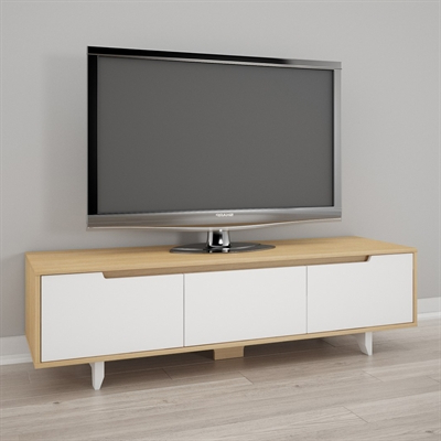 Fashionable Nexera Tv Stands For Nexera Nordik 60 In Tv Stand (View 7 of 20)