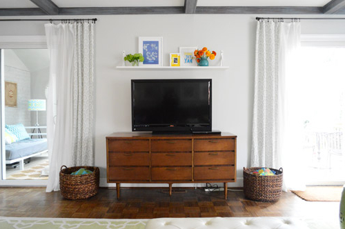 Fashionable Over Tv Shelves For A Cheap & Easy Shelf For That Blank Spot Over The Tv (View 2 of 20)