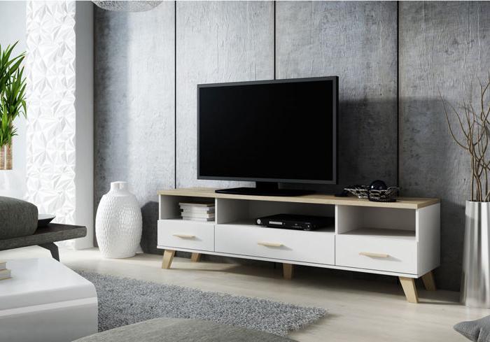 Fashionable Scandinavian Design Tv Cabinets Within Scandinavian Style Tv Cabinet Livorno 180cm (View 4 of 20)