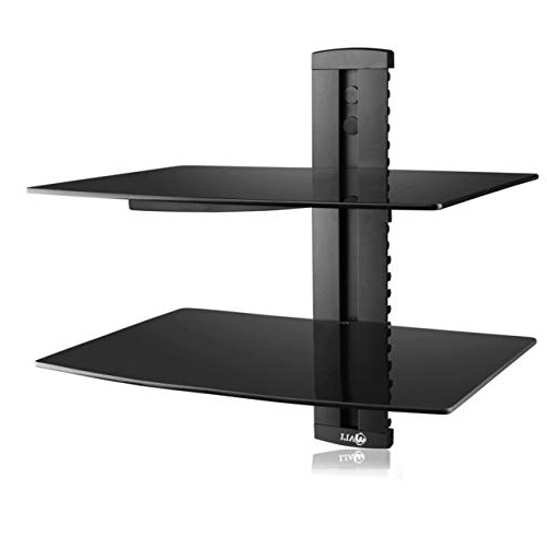 Fashionable Shelves For Tvs On The Wall For Tv Wall Shelves: Amazon (View 12 of 20)