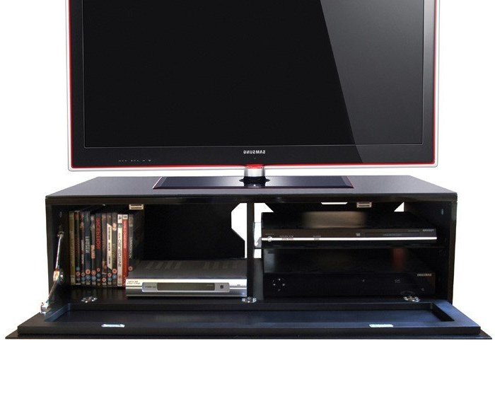 Fashionable Small Black Tv Cabinets Inside Black Tv Stands Uk – Tv Cabinets And Furniture (View 3 of 20)