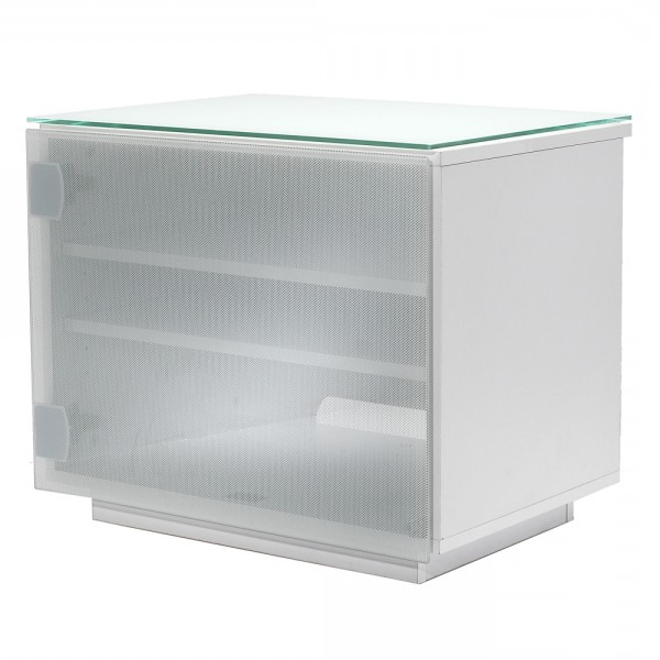 Fashionable Small White Tv Cabinets Within Uk Cf Barcelona Cabinet White And White Glass Av Stand 60Cm (View 5 of 20)