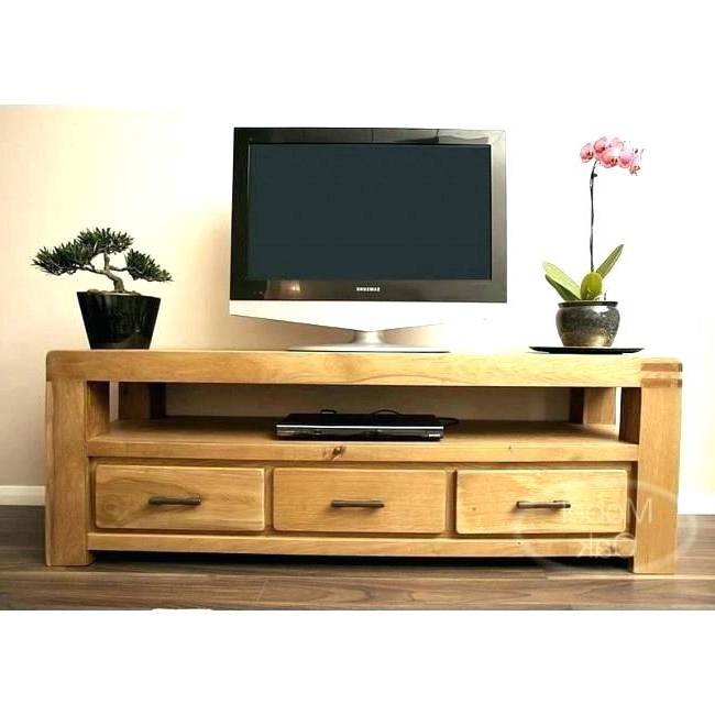 Fashionable Solid Tv Stands Solid Pine Wood White Pueblo Stand With Sliding Intended For Oak Tv Cabinets For Flat Screens (View 14 of 20)