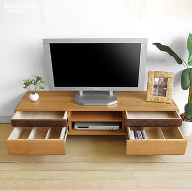 Fashionable Tv Cabinets Throughout Japanese Style Pure Solid Wood Tv Cabinet Chinese Tv Cabinet Oak (View 4 of 20)