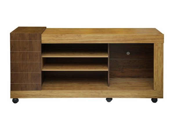 Fashionable Tv Unit – Modern – Living For Oak Effect Corner Tv Stand (View 11 of 20)