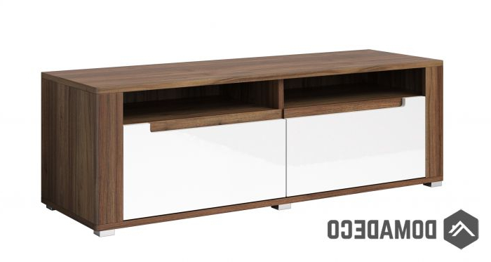Fashionable Walnut Tv Cabinets With Doors Pertaining To Neapoli Typ41 – Walnut Tv Stand Cabinet (View 5 of 20)