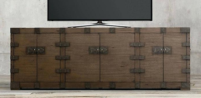 Fashionable Wood And Metal Tv Stand – Herbalplants With Wood And Metal Tv Stands (View 4 of 20)