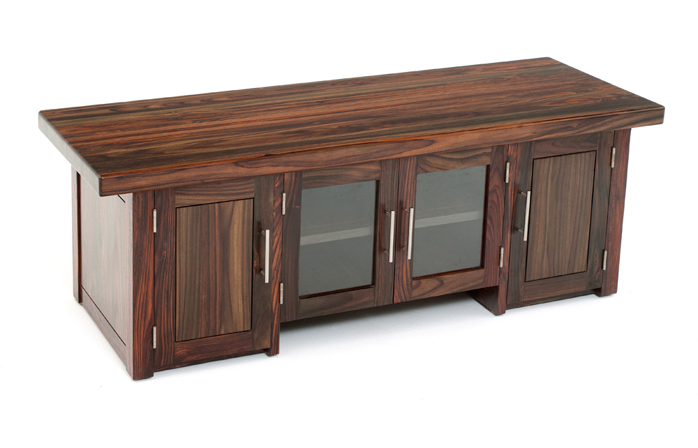 Fashionable Wood Tv Entertainment Stands Intended For Modern Exotic Wood Entertainment Center, Solid Wood Tv Stand (View 6 of 20)