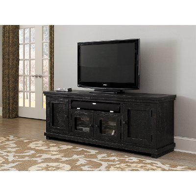 Favorite 74 Inch Distresssed Gray Tv Stand – Willow (View 12 of 20)