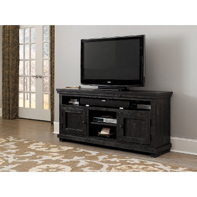 Favorite 74 Inch Distresssed Gray Tv Stand – Willow (View 16 of 20)