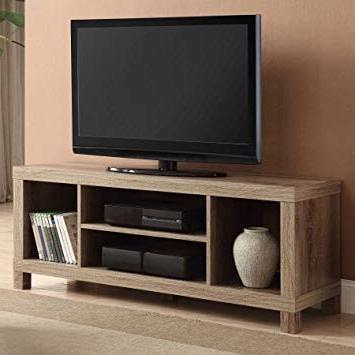 Favorite Amazon: Cross Mill Tv Stand (rustic Oak, 47.24 X 15.75 X  (View 3 of 20)