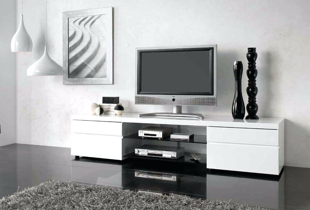 Favorite Black And White Tv Stand Body Modern Led Corner – Rlci Pertaining To White Tv Stands For Flat Screens (View 4 of 20)