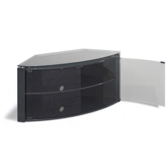 Favorite Black Corner Tv Cabinet B6b – Big Av Pertaining To Black Corner Tv Cabinets (View 17 of 20)