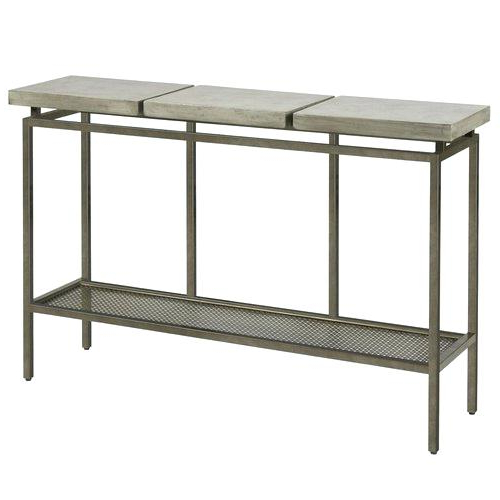 Favorite Concrete Top Console Table (View 14 of 20)