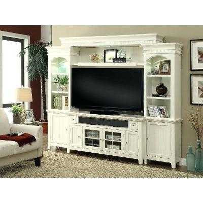 Favorite Country Tv Stands Modern White 4 Piece Country Entertainment Center In Country Tv Stands (View 14 of 20)