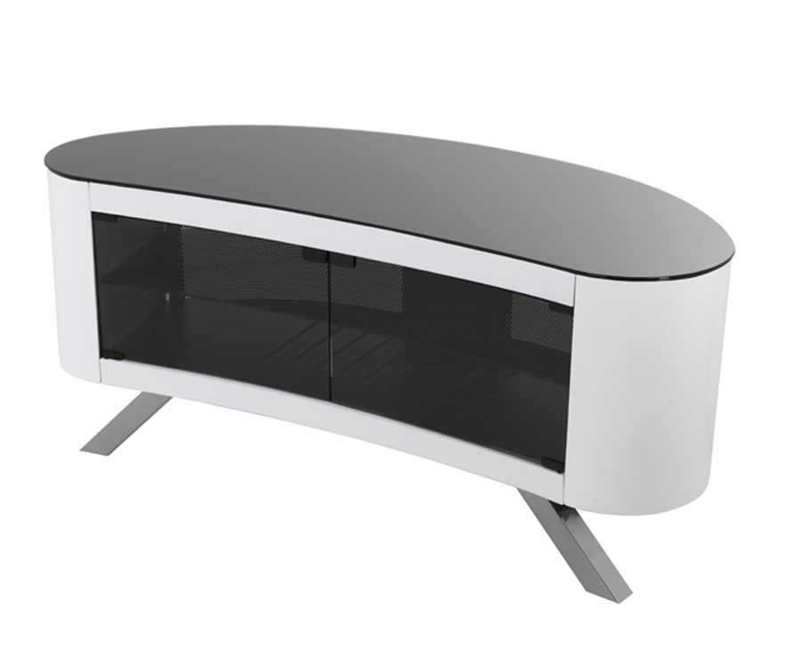 Favorite Curve Tv Stands Regarding Avf Affinity Bay 1150 Curved Tv Stand For Tvs Up To 55 , (View 9 of 20)