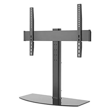 Favorite G Vo Universal Tabletop Tv Stand/base (Pedestal) With Mount For 23 Throughout Kenzie 72 Inch Open Display Tv Stands (View 8 of 20)