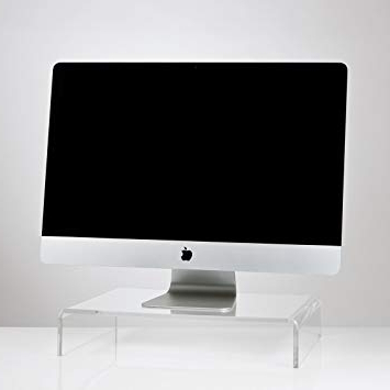 Favorite High Quality Clear Acrylic Tv/monitor/laptop/lcd Stand Computer With Clear Acrylic Tv Stands (View 12 of 20)