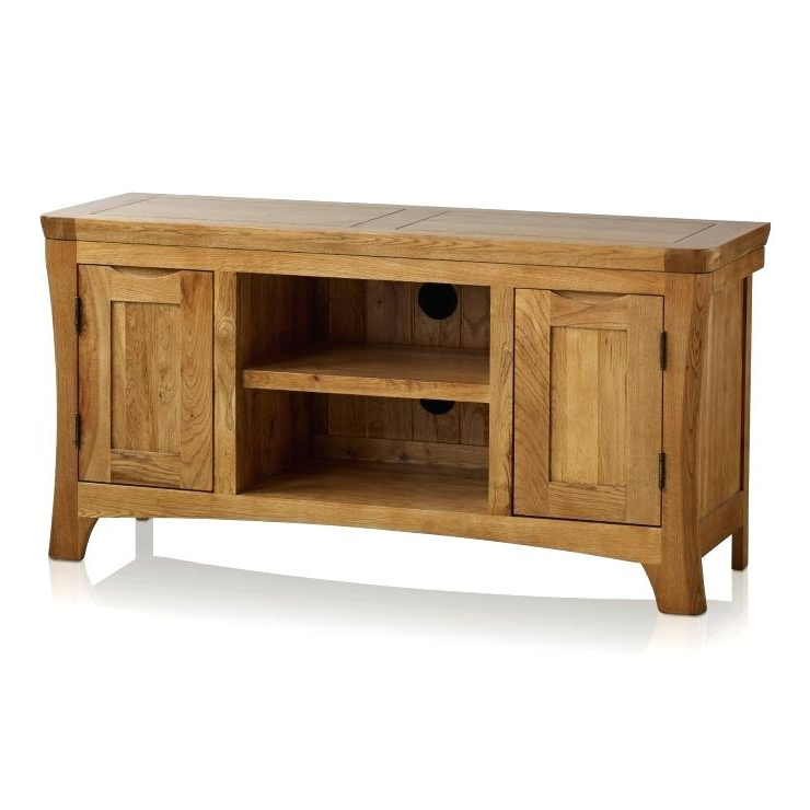 Favorite Jali Tv Cabinets Regarding Wide Screen Tv Cabinet Rustic Solid Oak Large Cabinet Image 1 Jali (View 6 of 20)