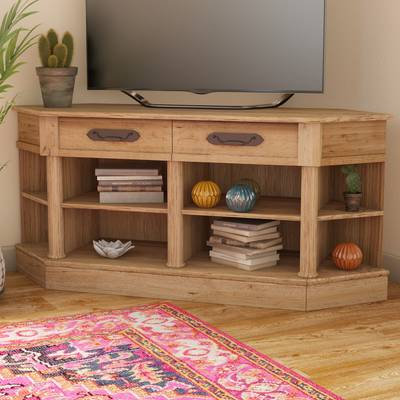 """Favorite Maddy 70 Inch Tv Stands Intended For Three Posts Orviston Corner Tv Stand For Tvs Up To 60"""" & Reviews (View 19 of 20)"""
