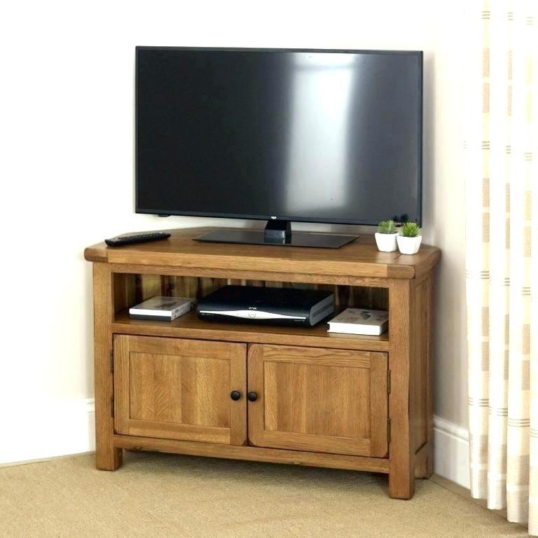 Favorite Oak Tv Stands With Glass Doors Intended For Solid Oak Tv Stand Solid Oak Television Stand Corner Wooden Stands (View 5 of 20)