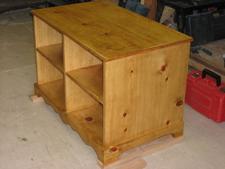 Favorite Pine Wood Tv Stands Within Knotty Pine Tv Stand  Kevin @ Lumberjocks ~ Woodworking (View 5 of 20)