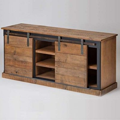 Favorite Reclaimed Wood And Metal Tv Stands Within 17 Diy Entertainment Center Ideas And Designs For Your New Home (View 19 of 20)