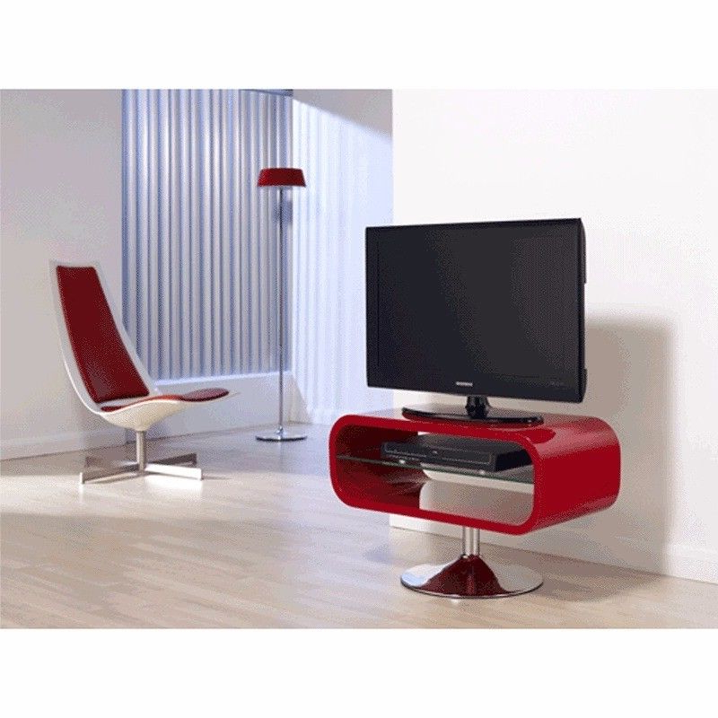 Favorite Red Modern Tv Stands Within Modern Tv Stand (View 5 of 20)