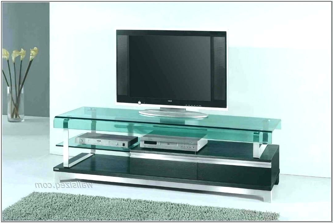 Favorite Small Black Tv Cabinets Throughout Small Glass Tv Stand – Backyardinajar (View 5 of 20)
