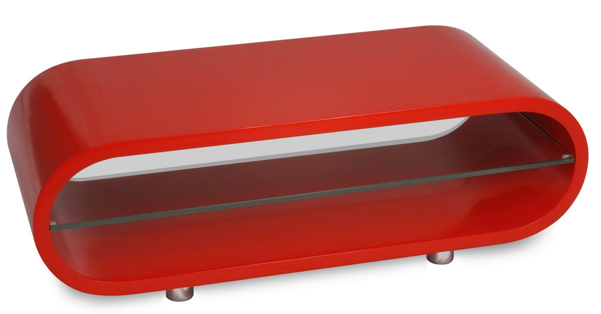 Favorite Techlink Ov95r A Grade Clearance With Red Gloss Tv Cabinets (View 14 of 20)