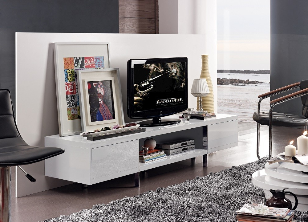 Favorite White & Black Gloss Tv Units, Stands And Cabinets (41) – Sena Home Within High Gloss Corner Tv Units (View 7 of 20)