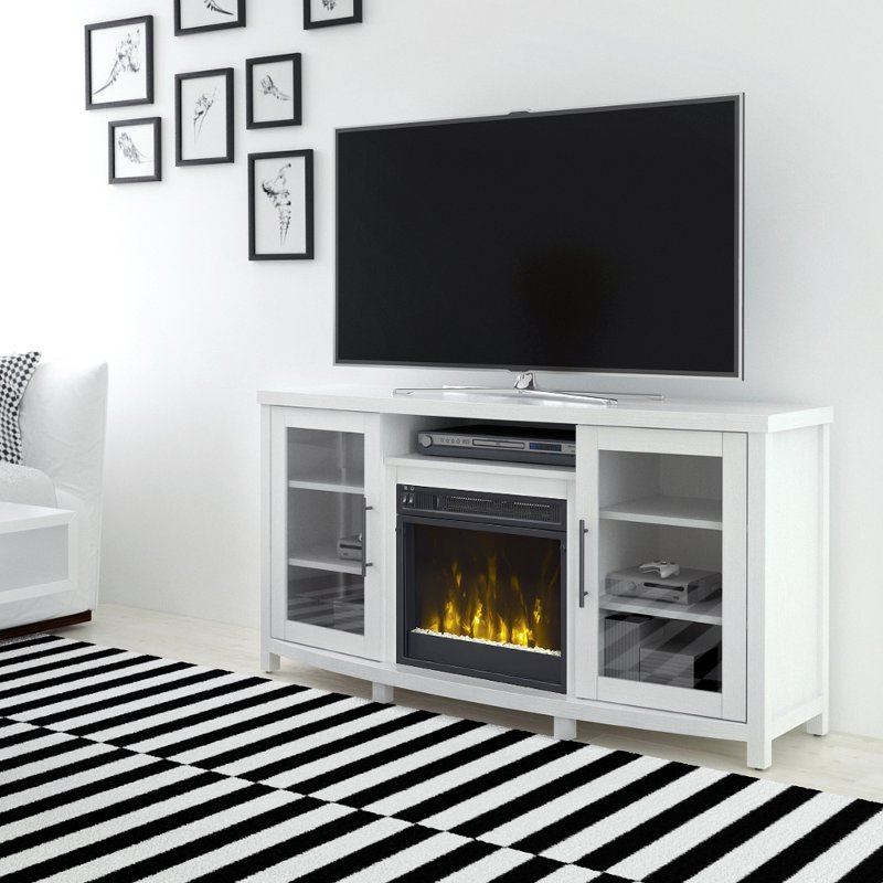 Favorite White Television Stand – House And Television Bqbrasserie Inside Sinclair White 54 Inch Tv Stands (View 6 of 20)