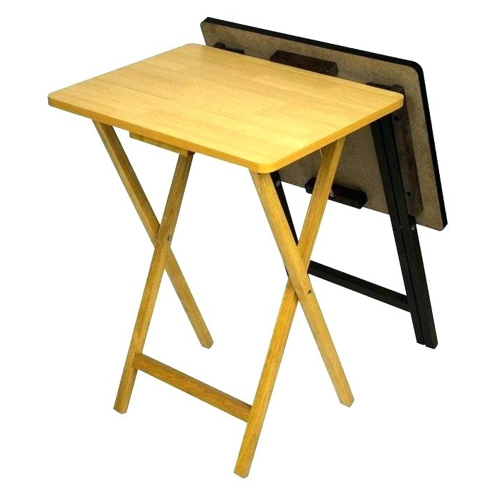Favorite Wooden Folding Tray Table Folding Tray Table Folding Tray Table Set With Folding Wooden Tv Tray Tables (View 10 of 20)