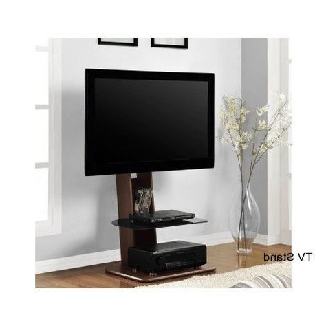 Flat Screen Tv Stand With Mount Integrated Furniture Television Inside Popular Modern Tv Stands For Flat Screens (View 5 of 20)