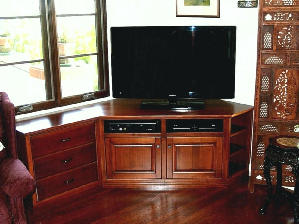 Flat Screen Tv Stands Corner Units With Newest Wall Tv Stands For Flat Screen Tvs Stand Screens Fireplace Media (Gallery 19 of 20)