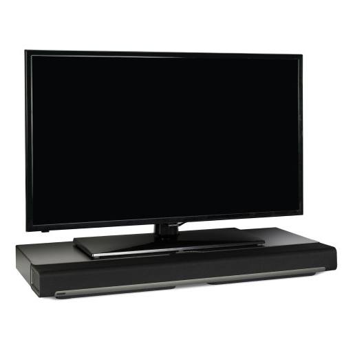Flexson Tv Stand For Sonos Playbar – Black (Single) – Tv Mounts Throughout Popular Sonos Tv Stands (View 8 of 20)