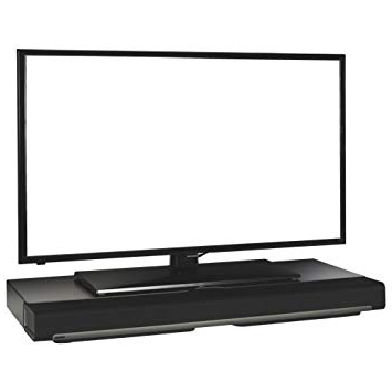 Flexson Tv Stand For Sonos Playbar (Flxpbst1021) – Black: Amazon (View 9 of 20)