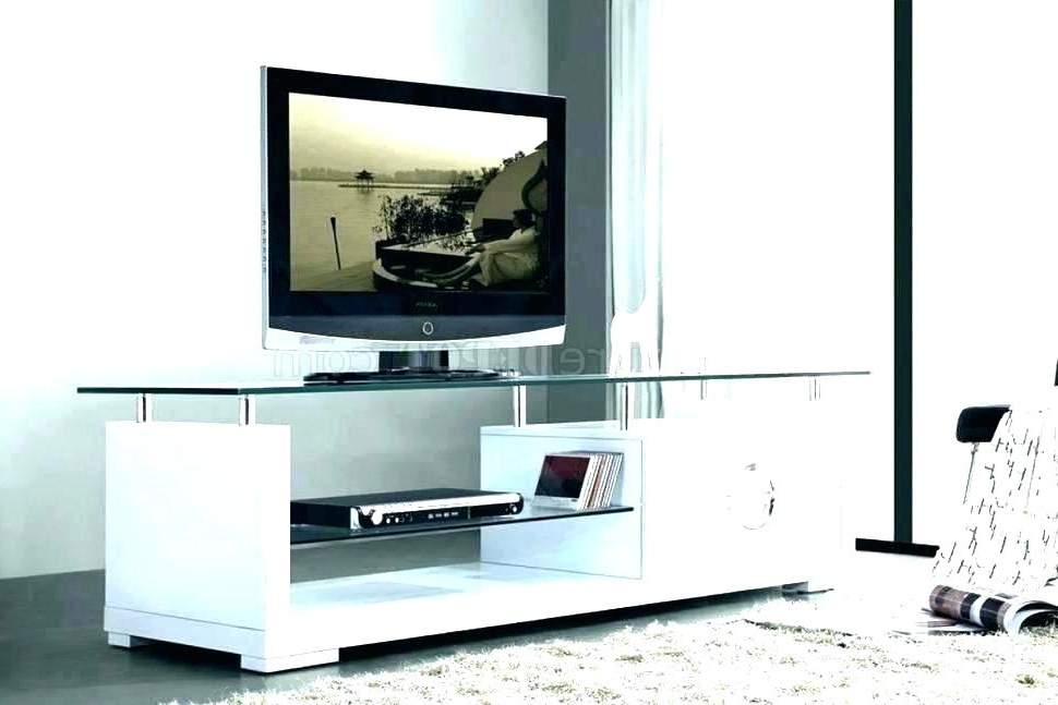 Floating Glass Tv Stands Throughout Best And Newest Walmart Glass Tv Stands – Photorazzi (View 10 of 20)