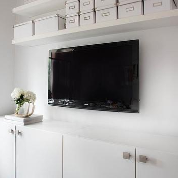 Floating Shelves Over Tv Design Ideas With Famous Over Tv Shelves (View 4 of 20)
