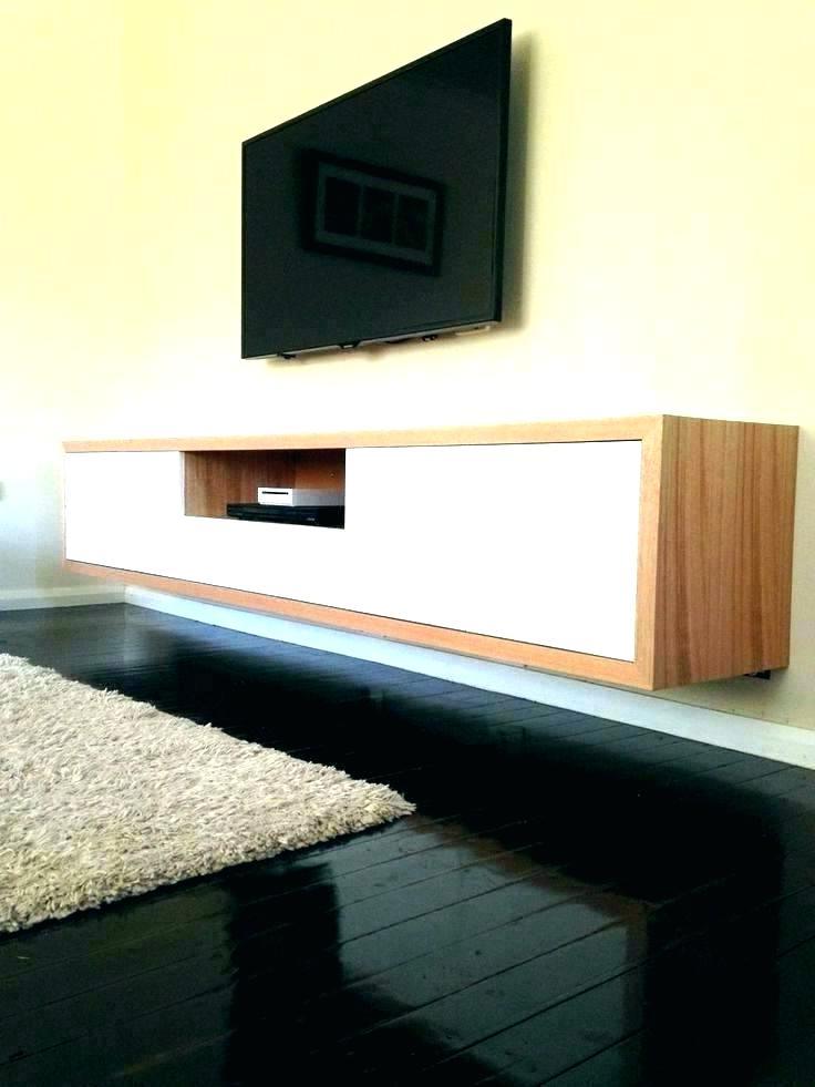 Floating Tv Cabinet Ikea Floating Unit Wall Mounted Shelf Compact Pertaining To Newest Ikea Wall Mounted Tv Cabinets (View 11 of 20)