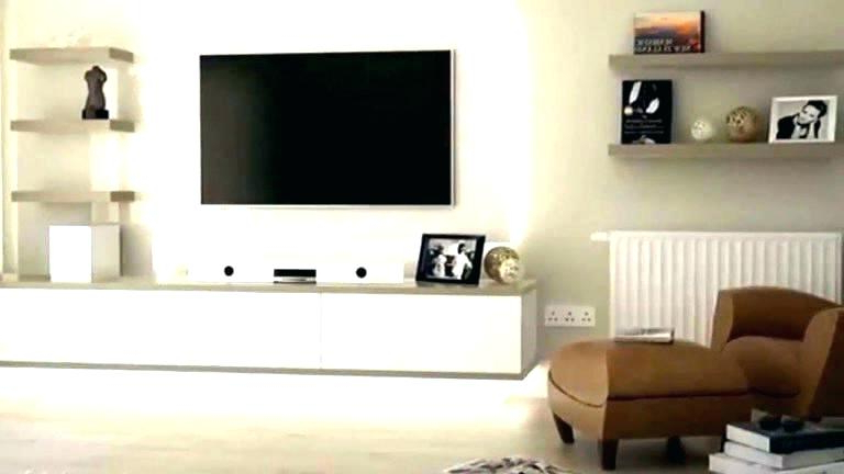 Floating Tv Cabinet Ikea Floating Unit Wall Mounted Stands Shelf Pertaining To 2018 Ikea Wall Mounted Tv Cabinets (View 5 of 20)
