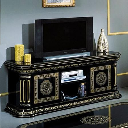 For The Home Intended For Gold Tv Cabinets (View 5 of 20)