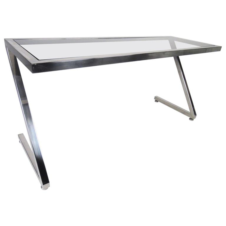Frame Console Tables Inside Newest Contemporary Modern Cantilever Z Frame Console Table For Sale At 1Stdibs (View 6 of 20)