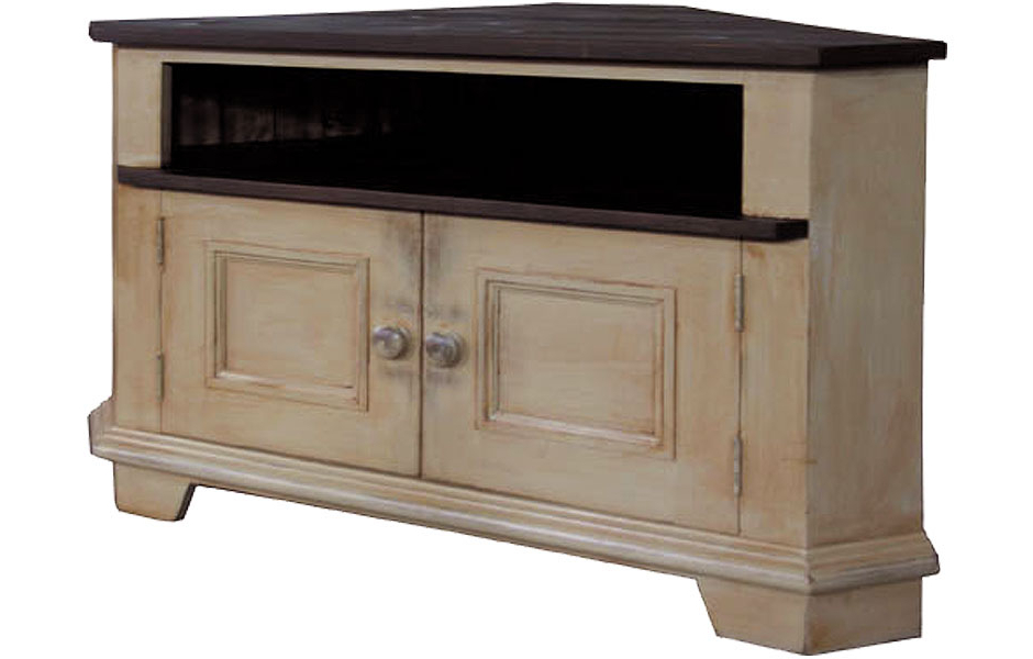 French Country Living Room Throughout Corner Tv Stands (View 8 of 20)