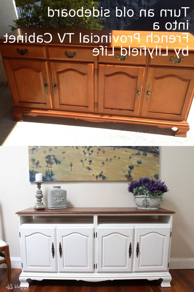 French Country Tv Cabinets Throughout Fashionable Lilyfield Life: July  (View 10 of 20)