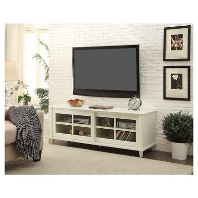French Country Tv Stand – White – 60 – Convenience Concepts For Most Recently Released Country Tv Stands (View 4 of 20)
