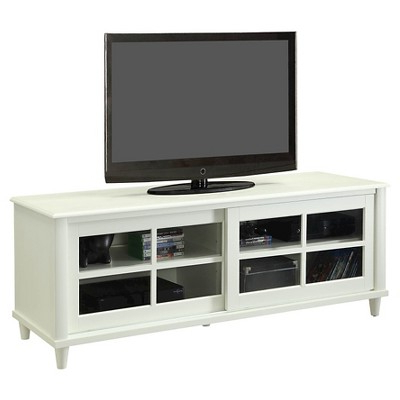 French Country Tv Stands Within Well Known French Country Tv Stand – White – 60 – Convenience Concepts (View 2 of 20)