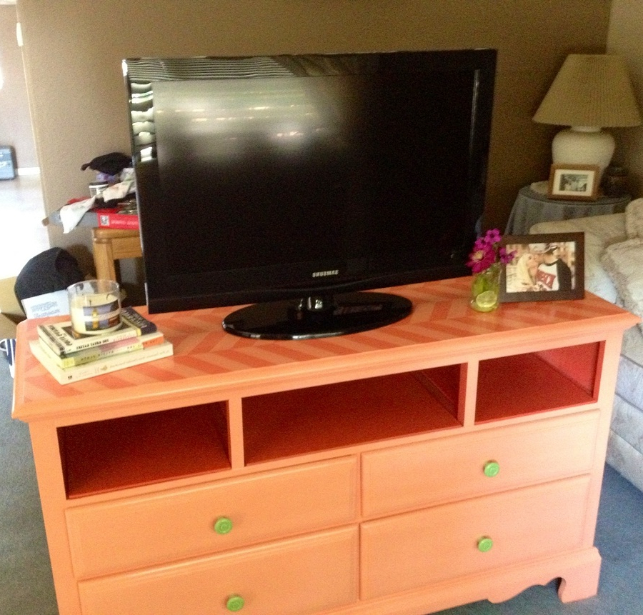 Fromy Love Design : Ideas For Make Dresser With Regard To Orange Tv Stands (View 3 of 20)