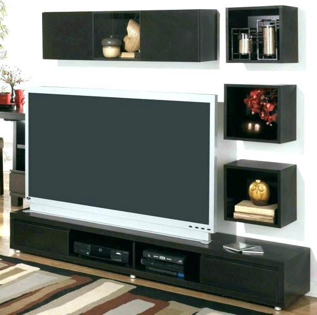 Funky Tv Stands With Most Recent Funky Stands Black Stand Tv Small – Kingofbeasts (View 13 of 20)